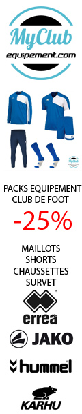 survetement club de foot