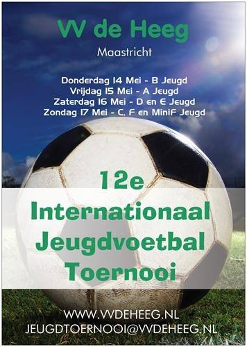 tournoi de foot INTERNATIONAL TOURNOI DE MAASTRICHT