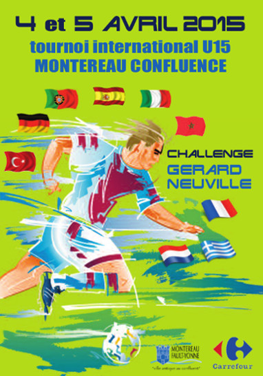 tournoi de foot TOURNOI INTERNATIONAL MONTEREAU CONFLUENCE U15